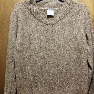 Columbia Ladies brown Sweater